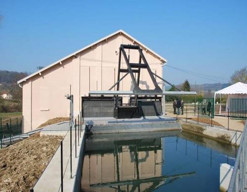 Hydro Power Plant Châtel Chéhéry
