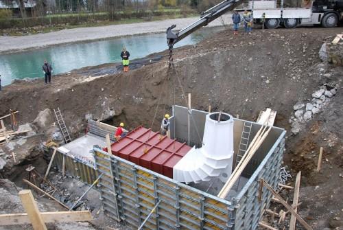 Hydro Power Plant Einöden, St. Johann im Pongau