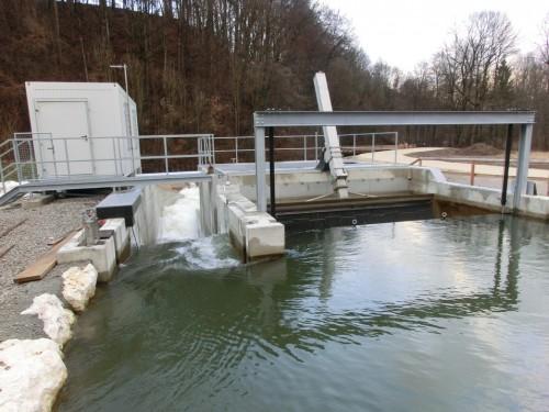 Hydro Power Plant Kunstmühle Haslach, Traunstein