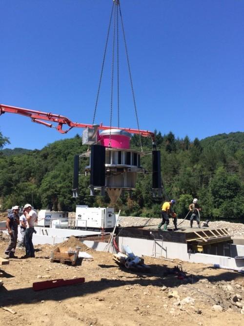 Hydro Power Plant Las Rives G5